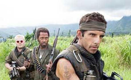 On the Tropic Thunder Set: Photos Galore!