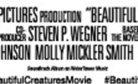 Beautiful Creatures Title Treatment