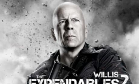The Expendables 2 Character Posters: Guys (and Gal) with Guns
