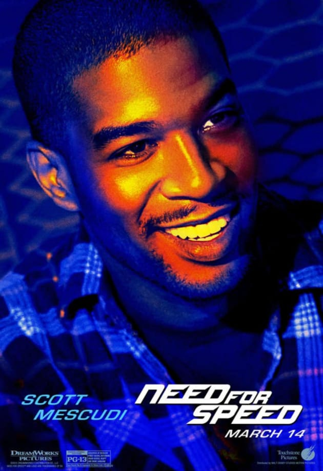 Need for Speed Scott Mescudi Poster