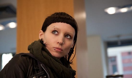 Rooney Mara as Lisbeth in The Girl with the Dragon Tattoo