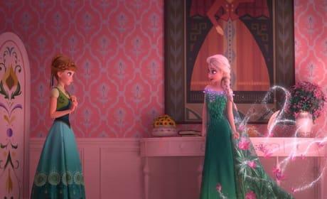 Frozen Fever Elsa Anna