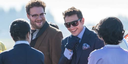 Seth Rogen James Franco The Interview Photo