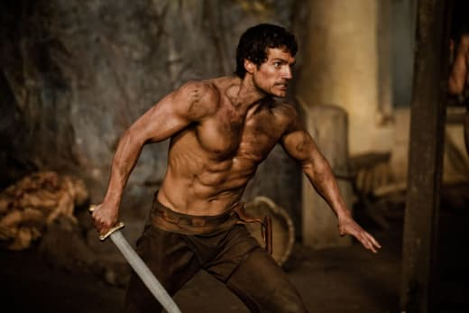 Henry Cavill as Theseus