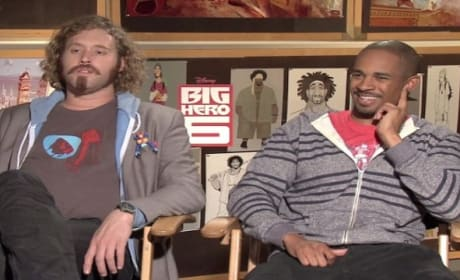 "Big Hero 6 Exclusive: Damon Wayans Jr. & TJ Miller Wonder Why ""No Feet in This Movie!"""