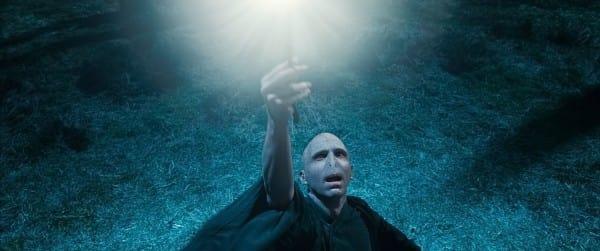 Voldemort Shooting His Wand