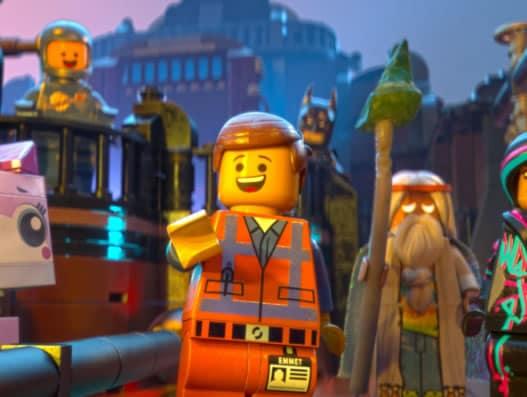 The lego movie chris pratt everett