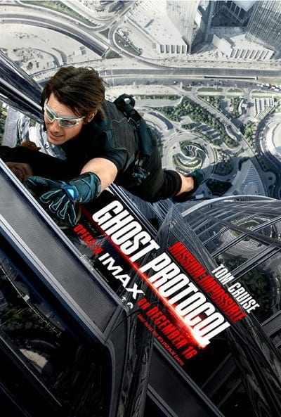 Mission Impossible 4 IMAX Poster