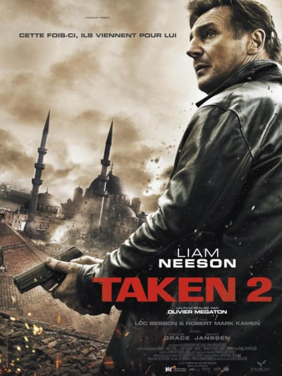 Taken 2 International Poster