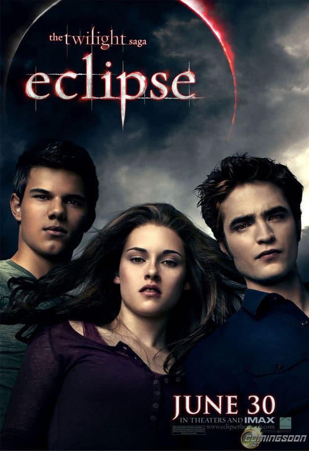 Eclipse Banner: Bella, Edward, Jacob