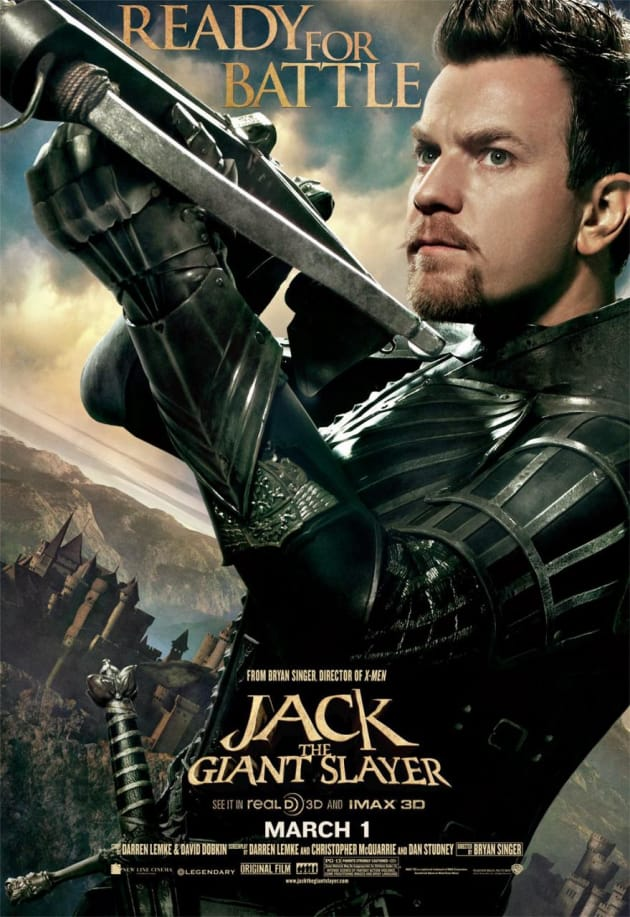 Ewan McGregor Jack the Giant Slayer Character Poster