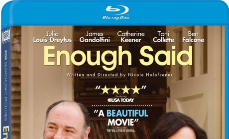 Enough Said Giveaway: Win Blu-Ray of James Gandolfini's Last Film