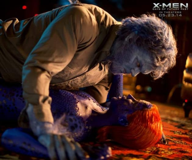 X-Men: Days of Future Past Beast Mystique