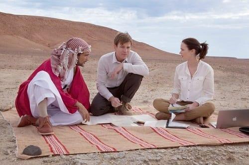 Ewan McGregor and Emily Blunt Star in Salmon Fishing in the Yemen