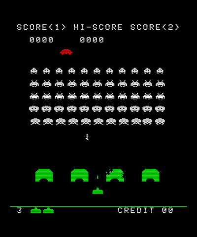 Space Invaders Still
