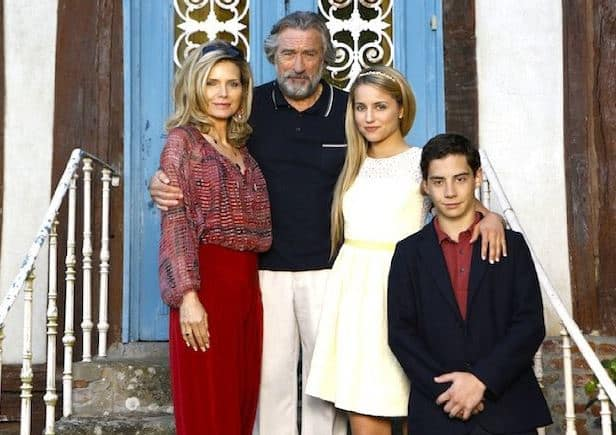 The Family Robert De Niro Michelle Pfeiffer Dianna Agron