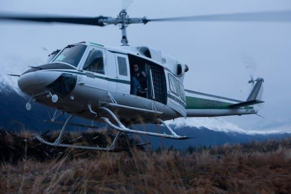 Frozen Ground Still: Helicopter