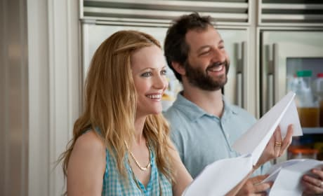 Leslie Mann and Judd Apatow This is 40