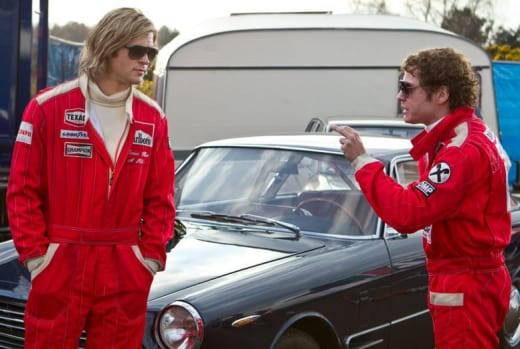 Daniel Bruhl Chris Hemsworth Rush