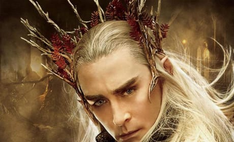 The Hobbit: The Desolation of Smaug Thranduil Poster