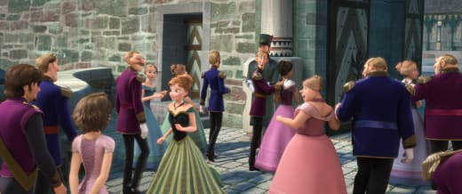 Frozen Easter Egg: Flynn and Rapunzel