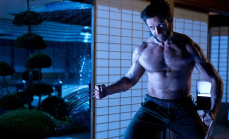 The Wolverine Gets New Still: Hugh Jackman Gets Shirtless
