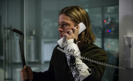World War Z Brad Pitt Still
