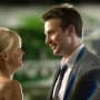 Anna Faris and Chris Evans film What's Your Number