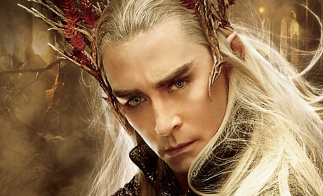 "The Hobbit The Battle of the Five Armies Exclusive: Lee Pace on ""Celebrating"" Middle Earth"