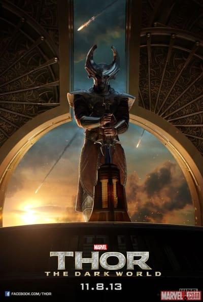 Thor the Dark World Heimdall Poster