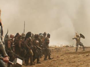 Thor: The Dark World Battle Scene