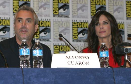 Alfonso Cuaron Sandra Bullock Press Conference