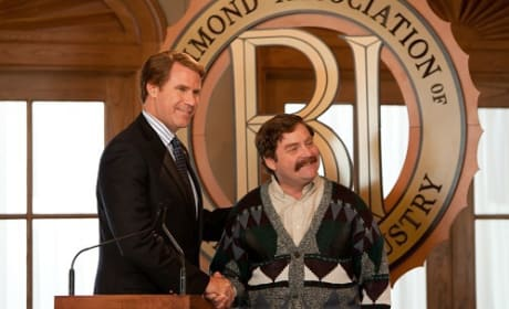 Zach Galifianakis and Will Ferrell The Campaign