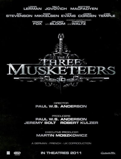 Three Musketeers Teaser Poster