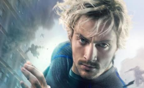 Avengers Age of Ultron Quicksilver Poster