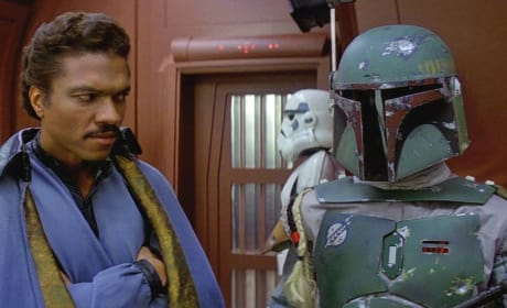 Empire Strikes Back Lando Boba Fett