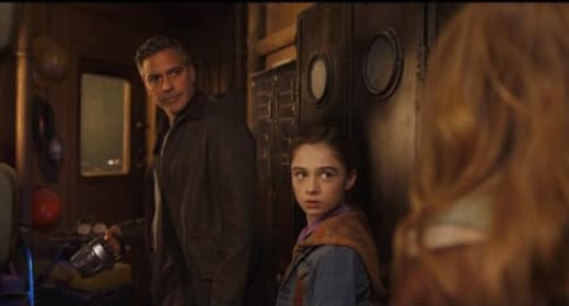 George Clooney Britt Robertson Tomorrowland