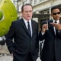 Men in Black 3 Stars Tommy Lee Jones and Will Smith