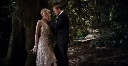 The Great Gatsby Still: Gatsby and Daisy