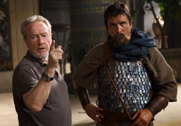 Exodus Gods and Kings Christian Bale Ridley Scott