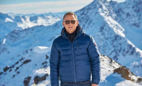 Spectre Set Photos: Daniel Craig Gets Icy