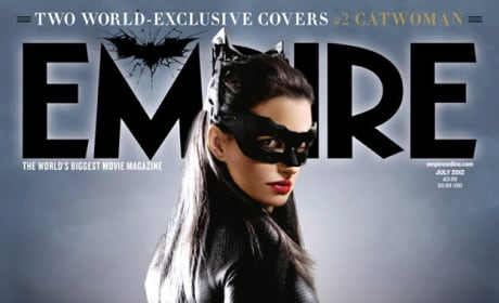 Dark Knight Rises Empire Cover: Catwoman