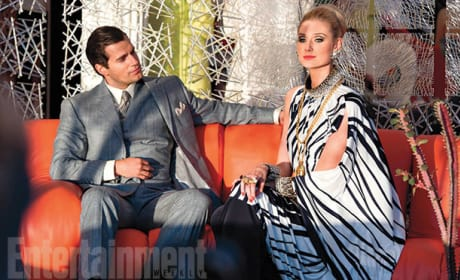 The Man from U.N.C.L.E. Henry Cavill Elizabeth Debicki