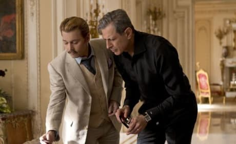 Mortdecai Johnny Depp Jeff Goldblum