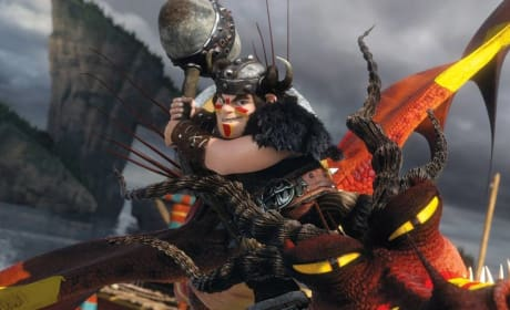 How to Train Your Dragon 2 Snotlout
