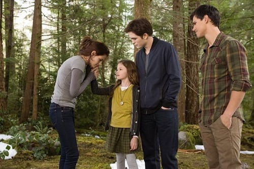 Kristen Stewart, Robert Pattinson and Taylor Lautner Breaking Dawn Part 2