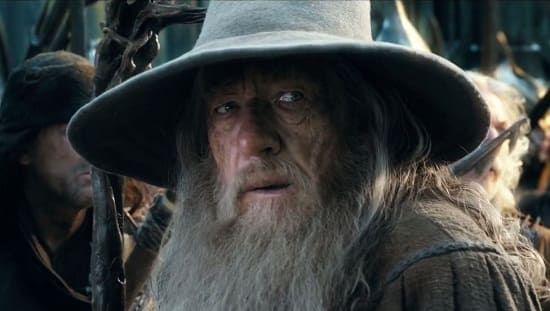 Ian McKellen Gandalf The Hobbit The Battle of the Five Armies