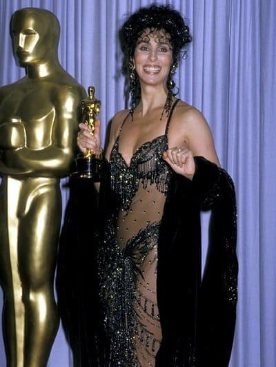 Cher Wins Oscar