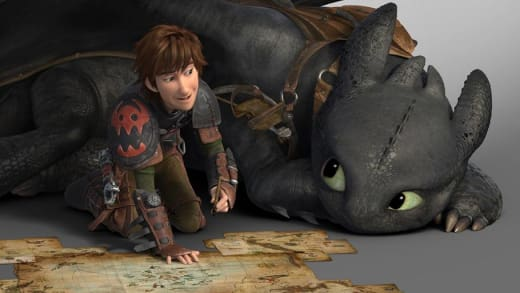 How to Train Your Dragon 2 Toothless and Hiccup