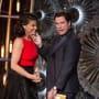 John Travolta Idina Menzel Oscars